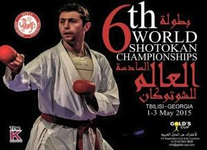 6° Mondiale Shotokan Georgia 1-3 maggio 2015